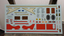 359 Peterbilt amt 1/25 waterslide decal sheet california hauler pete semi truck