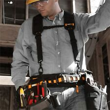 ToughBuilt Comfortable Compatible Adjustable Durable Cushioned Padded Suspenders