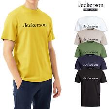 T-shirt Uomo Jeckerson 100% Cotone Maglietta Cotone Maglia Mezza Manica Corta