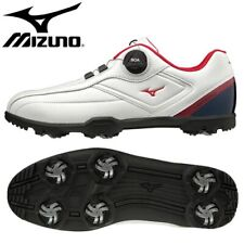 Mizuno Golf Shoes Spikeless Light Style 003 Boa 51GM196014 White / Navy / Red