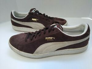 Puma Sport Lifestyle Suede Gold Cat Sneaker Comfort Shoe 11 UK 10 Sneaker
