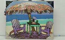 Braciano cigar box hand bag, Purse, Palm Tree Beach Tropical Vacation Ocean Sea