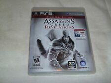 Assassin's Creed: Revelations -- Signature Edition (Sony PlayStation 3, 2011)