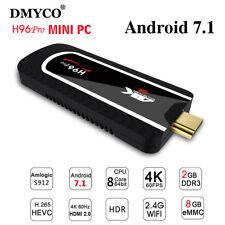 H96 pro Mini PC 2G 8G android 7.1 Amlogic S912 Octa Core 4K HDMI BT4.1 TV Stick