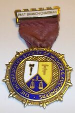 THE INCORPORATED SOCIETY OF VALUERS & AUCTIONEERS SILVER MEDAL