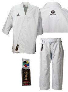 Tokaido Karate Suit Kata Master Pro ( Wkf ), 14 OZ Cotton Pro Carate Suit