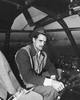 1940's American Aviator HOWARD HUGHES Glossy 8x10 Photo Print Portrait Poster