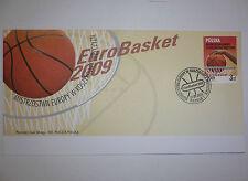FIBA EUROPEAN BASKETBALL CHAMPIONSHIP FOR MEN 2009 POLAND/POLSKA FDC 07.09.2009