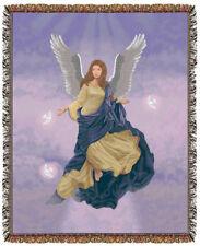 67x53 ANGEL Religious Tapestry Afghan Throw Blanket