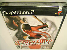 Evolution Snowboarding  (Sony PlayStation 2) BRAND NEW FACTORY SEALED