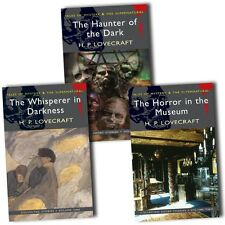 H P Lovecraft Collection 3 Books Set Haunter of the Dark, Horror in the Museum