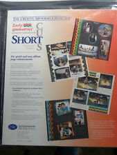 NEW Creative Memories Zesty Geometrics Short Cuts - Bonus Sticker Sheets - EB5