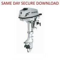 Honda BF2A BF20 Outboard Motor Service Manual ( 2 HP ) FAST ACCESS