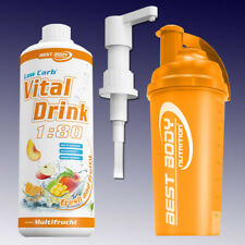 Best Body Nutrition Low Carb Vital Drink Mineraldrink + Shaker + Dosierpumpe