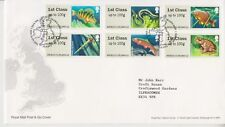 TALLENTS HOUSE PMK GB FDC COVER 2013 Freshwater Life 2nd Series Lakes No insert