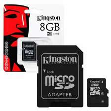 Kingston 8GB 8 GB Micro SD SDHC Class 4 Memory Card with adapter for Samsung