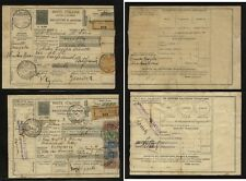Italy  2 different  parcel  cards           MS1203