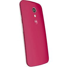 Coque framboise de Motorola pour Moto G V2 version 2 coloris rouge
