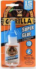 New listing Gorilla Super Glue 15 Gram, Clear, (Pack of 1)