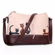 fashion Women Cat Rabbit Leather Shoulder Bag Cross Body Purse Handbag Messenger