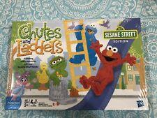 Sealed Hasbro Chutes and Ladders Sesame Street Edition Elmo Cookie Monster Oscar