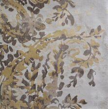 St. Geneve Fiorella Gris King Duvet Cover + Shams Set. Giza Egyptian Cotton