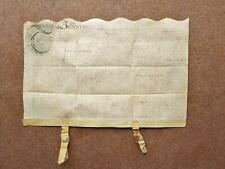 More details for 1658 great barr vellum deed indenture signed william smalwood of pepys interest