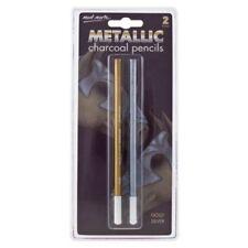 Metallic Charcoals for Artists