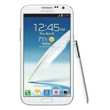 AT&T Samsung Galaxy Note 2 II SGH-i317 16GB Marble White 5.5' GSM Good Condition