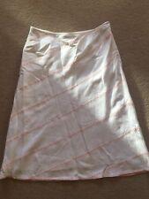 Gorgeous Viyella Lightweight Linen Skirt Size 10 - Calf Length