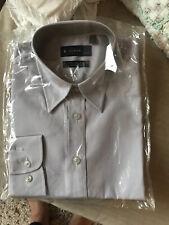 "Uneek Work Wear Ladies Grey Long Sleeve Shirt Size M.  Chest 34"" New"