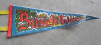 Vintage 1970s Busch Gardens Felt Pennant LOOK