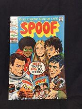 Spoof #1 Marvel 1970 Mad Style Humor Infinity Cvr Dark Shadows Marie Severin Fn-