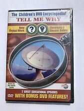Tell Me Why - How Things Work/ Electricity  Electric Safety (DVD, 2003)