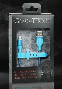GAME OF THRONES - THE NIGHT KING - LIMITED EDITION LIGHTNING CABLE ATT EXCLUSIVE