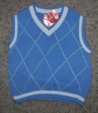 IMP Boys Blue Knit Vest - Size 5/6 - NWT