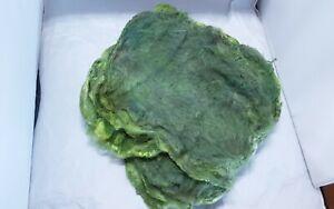 Silk hankies. Moss Green 20g