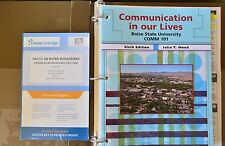 Communication In Our Lives 6th Edition Wood BSU Textbook BLACKBOARD COURSE CART