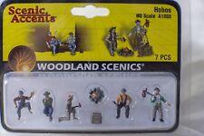 Hobos Woodland Scenics A1860 HO Scale Figures