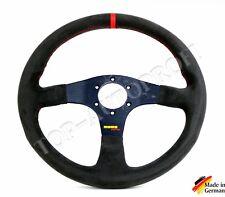 Sport Momo Raid Volant Sport Volant Volant en cuir NOUVEAU réfèrent Alcantara 499