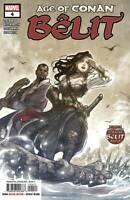 Age of Conan Belit #4 Female Barbarian Marvel Comic 1st Print 2019 unread NM
