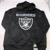LA Raiders Team NFL Apparel Oakland Raiders Hoodie Youth 10/12 Medium