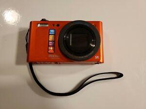 Pentax Optio RZ-18 16 MP Digital Camera with 18x Optical Zoom - Black