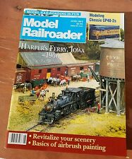 Model Railroader Magazine June 1992