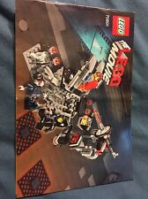 Lego The Lego Movie Melting Room #70801 Instruction Manual Book Only
