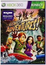 XBOX 360 KINECT ADVENTURES - BRAND NEW & SEALED! Free Shipping