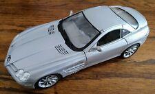 Maisto Special Edition Mercedes-Benz SLR McLaren Silver 1/18 Scale Model Boxed