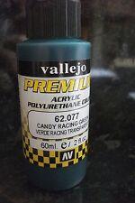 Candy Racing Green Pintura val62077 Premium Color 60 Ml Cepillo O Aerógrafo Vallejo