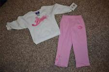 New-Minor Flaw- New York Jets Reebok Toddlers Girls 3T Pants and Shirt Set