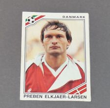 ELKJAER-LARSEN DANMARK DANEMARK RECUPERATION PANINI FOOTBALL MEXICO 86 WM 1986